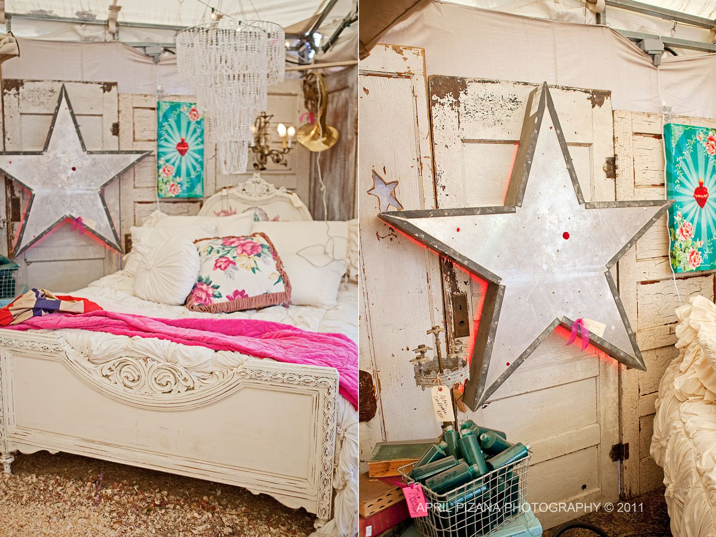 . Junk Gypsy    Vendor Vignette Inspiration   Junk gypsy bedroom