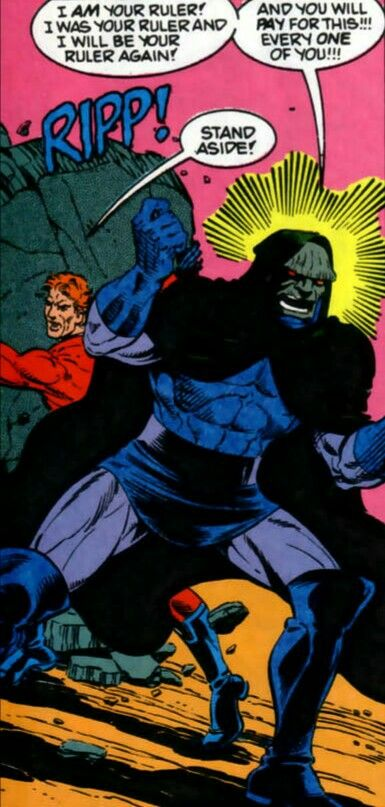 Darkseid and Orion