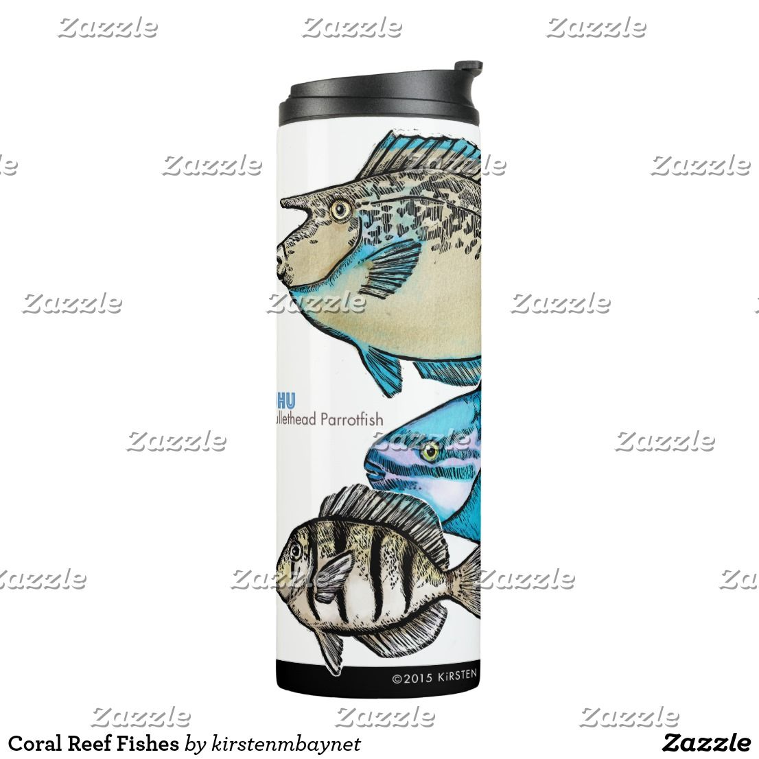 Coral Reef Fishes Thermal Tumbler | Coral reefs, Tumbler and Fish