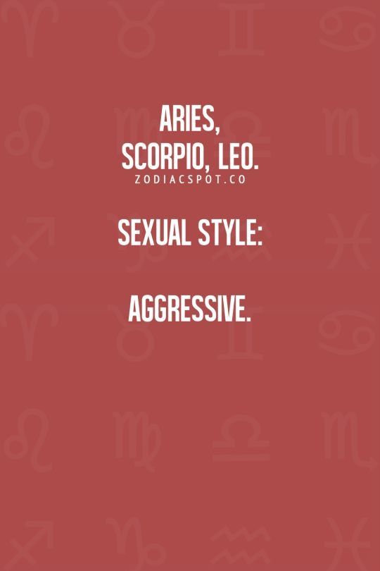 Aries scorpio intimidating