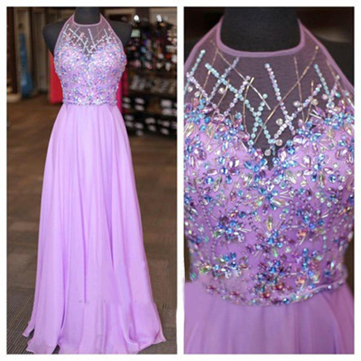 The long prom dresses are fully lined bones in the bodice chest