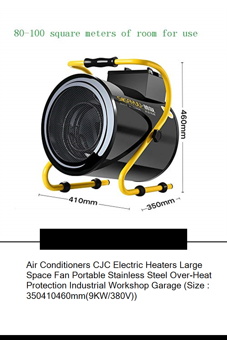 Air Conditioners CJC Electric Heaters Large Space Fan