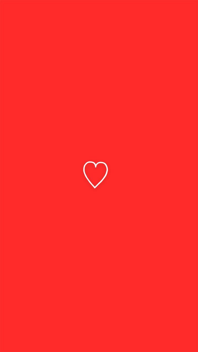 Cute Red Heart Iphone Background Wallpaper Simple Iphone Wallpaper Wallpaper Iphone Cute Heart Wallpaper