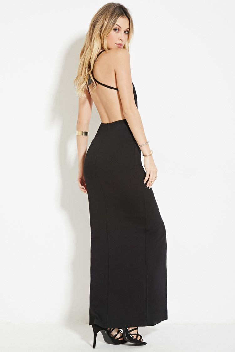 High Slit Cami Maxi Dress Frat Formal Pinterest Maxi Dresses