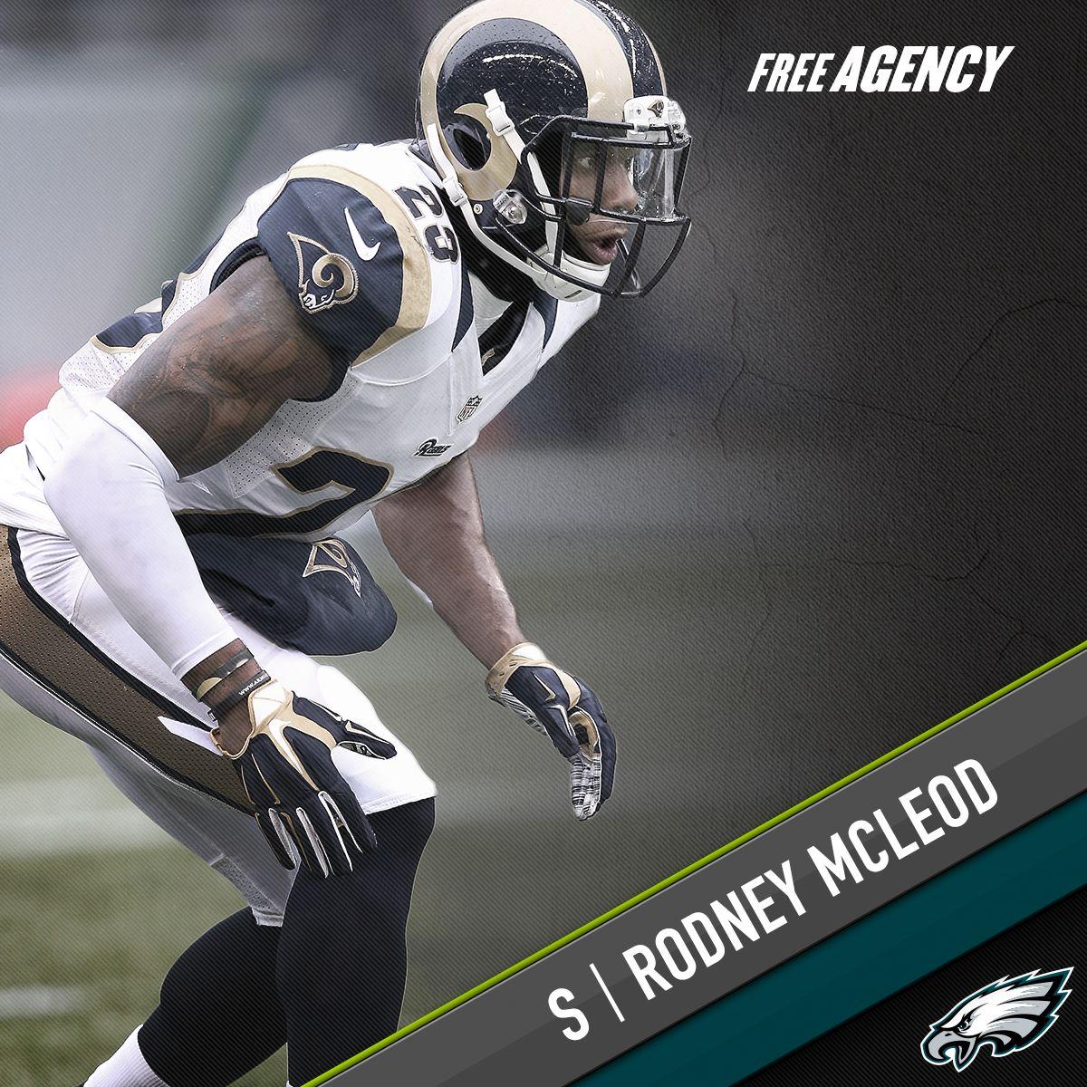 Philadelphia Eagles sign S Rodney McLeod