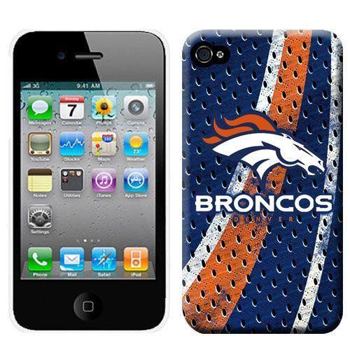 NFL Denver Broncos IPhone 4/4S Case-001! Only $4.50USD