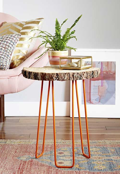 10 ideas para utilizar troncos de madera en la decoración Ideas