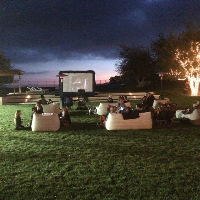 Kourtney Kardashians Backyard. Great Outside Movie