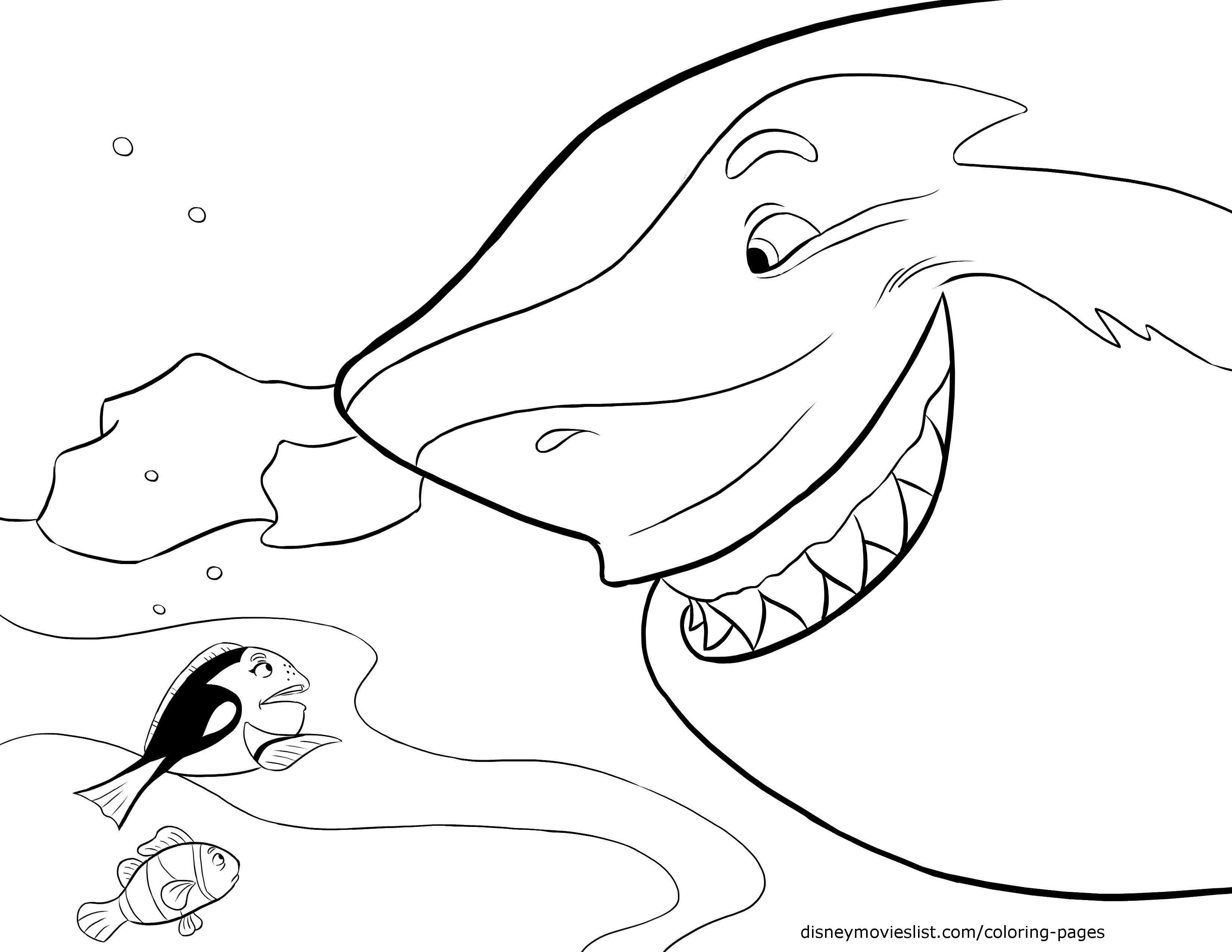 Disney 39 s Finding Nemo Coloring