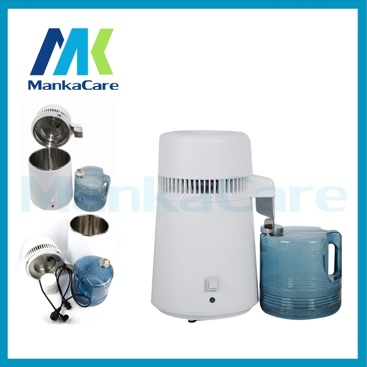 (109.99$)  Know more  - Manka Care - 4 Liters Dental products Clinic Distiller, Pure Water Distiller Stainless Steel Internal, Pure Filter Purifier