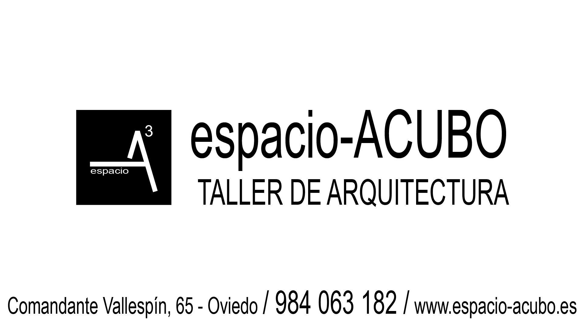 espacio-ACUBO  Taller de Arquitectura CONTACTO
