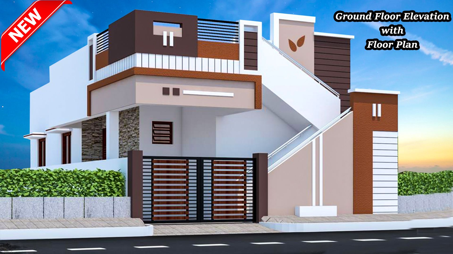home creators in 2019 | House elevation, Single floor ...