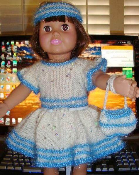 Ladyfingers Ag Doll Basic Holidayparty Dress With Variations
