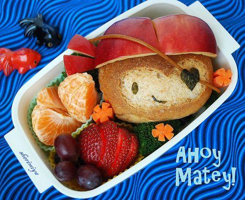 Pirate Monkey Sandwich... And nice Spinach Arugula Pesto instructions