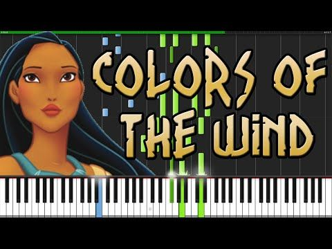 Colors of The Wind - Pocahontas [Piano Tutorial] (Synthesia) // Kyle Landry - YouTube my dream piano piece