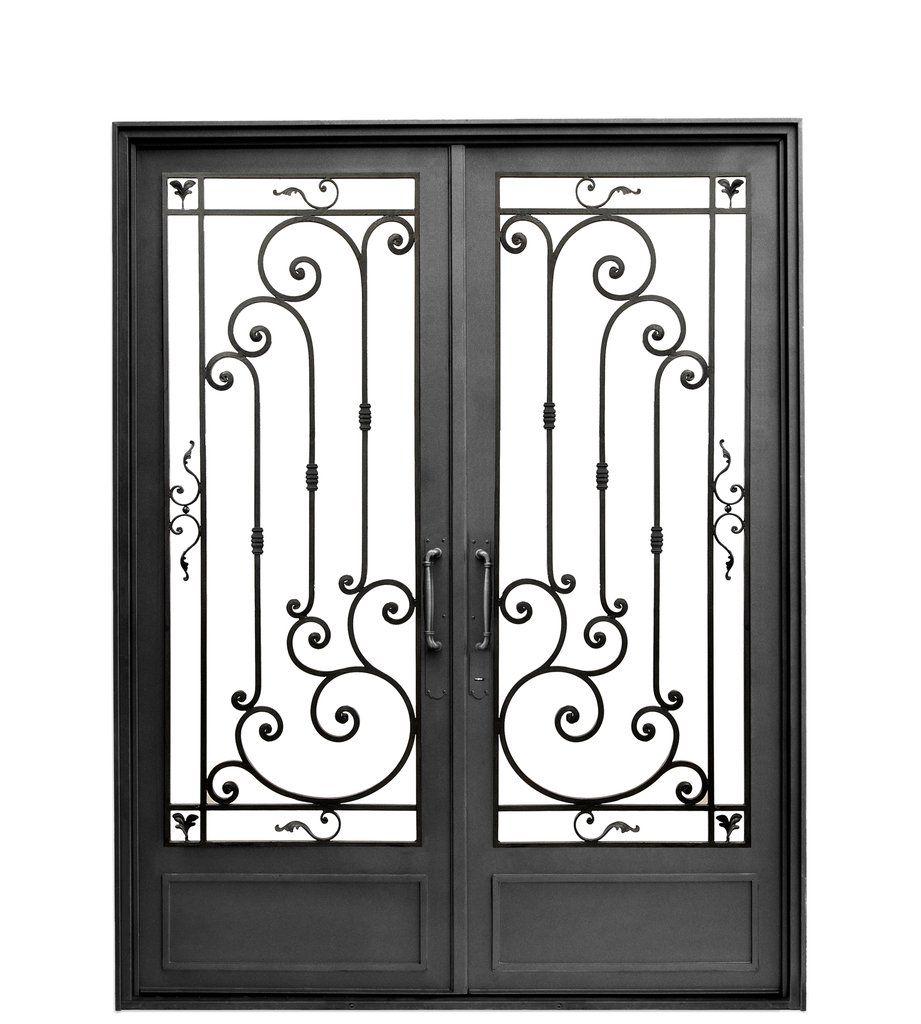 Puerta de entrada de hierro puertas pinterest puerta - Puertas de entrada de hierro ...