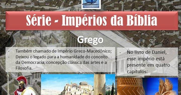 Historia E Geografia Biblica Imperios Da Biblia Colecionador