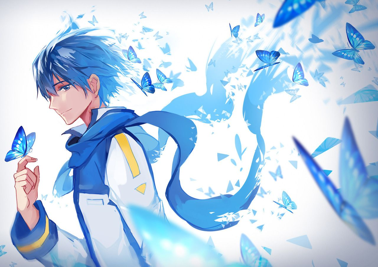 Kaito By The Icy Blue Prince Tumblr Vocaloid Kaito Anime