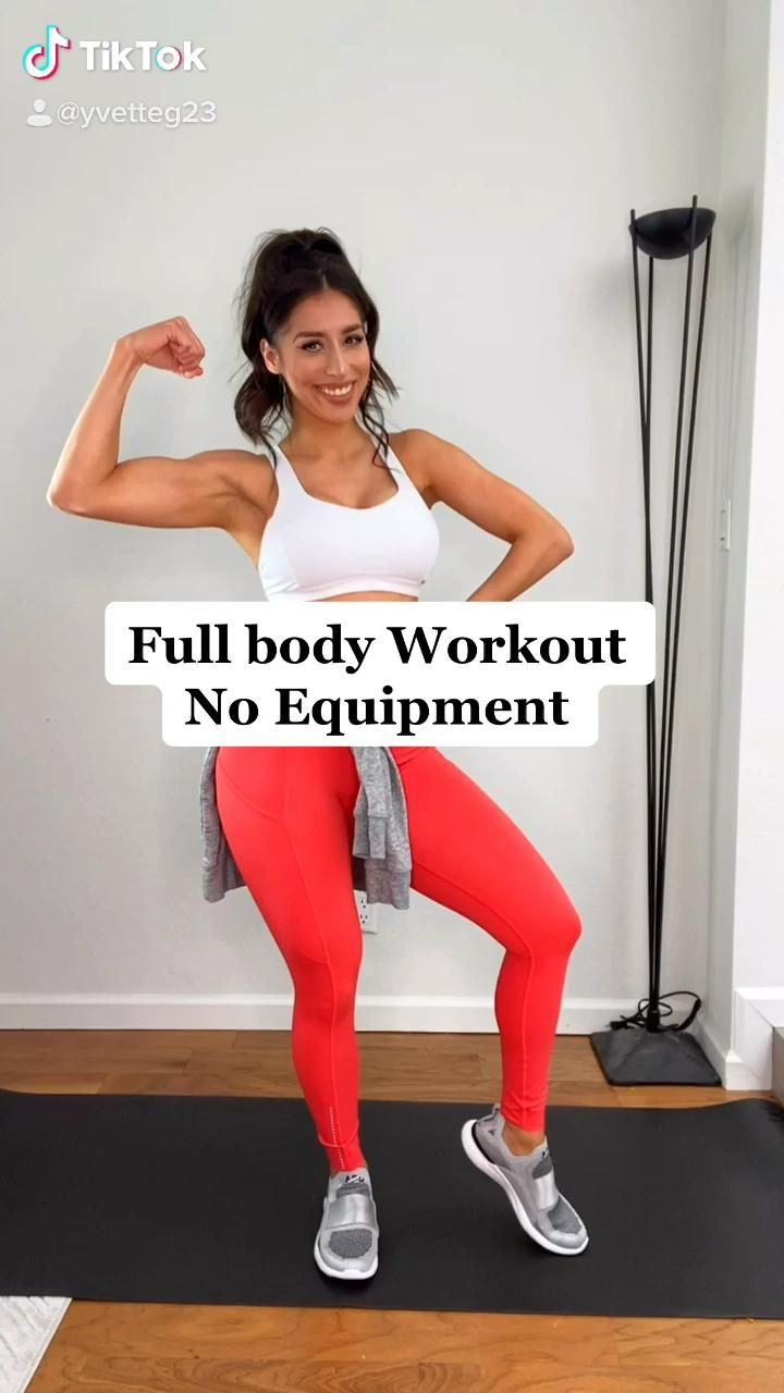 Body weight at home workout no equipment