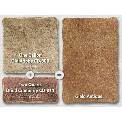 concrete dye colors create antique sidewalk limestone caps landscaping behr sealer home depot kit video