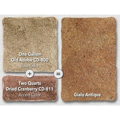 Behr Premium 1 Gal Cd 800 Old Adobe Interiorexterior Concrete Dye