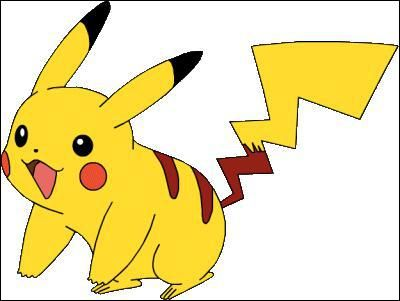 Dessin Pokemon Pikachu Couleur