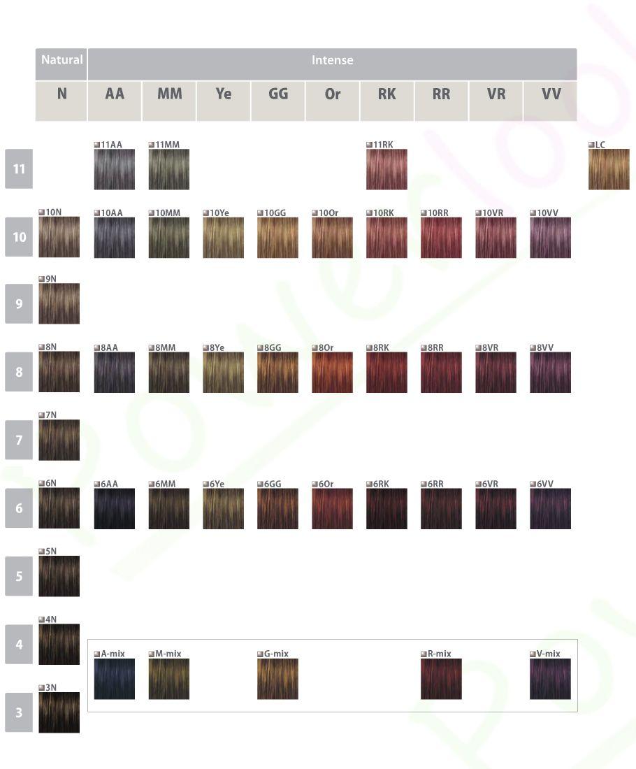 Goldwell Topchic Farba Utleniacz 75 Ml Paleta Goldwell Color