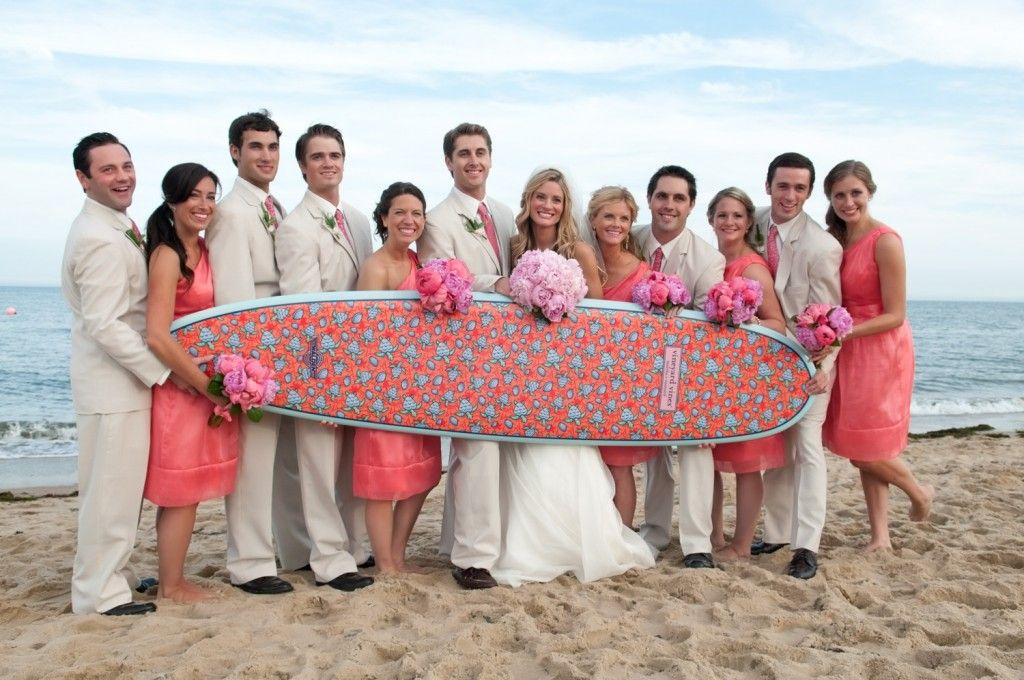 I don\'t know how I feel about a surf board at my wedding and the ...