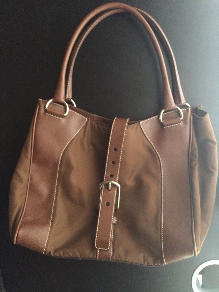 3a7c3c5f999910 Prada Nylon Leather Purse@ebay @pinterest #fashion #money #sale #canvas