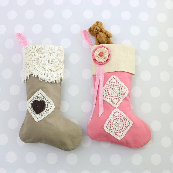 Christmas stocking pattern PDF, Christmas pattern, 4 sizes and ...
