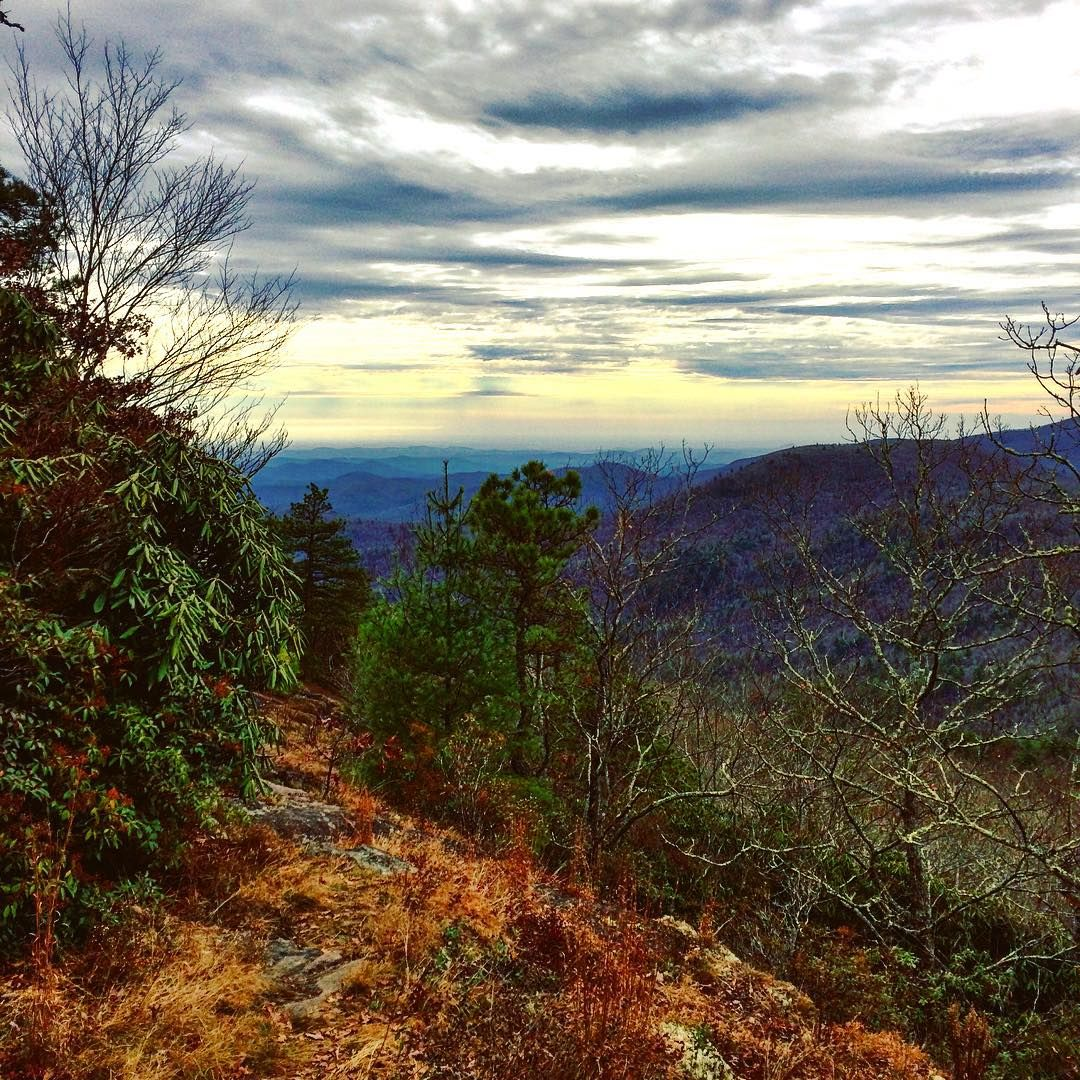 Scaly Mountain Views On The Bartram Trail Near Highlands