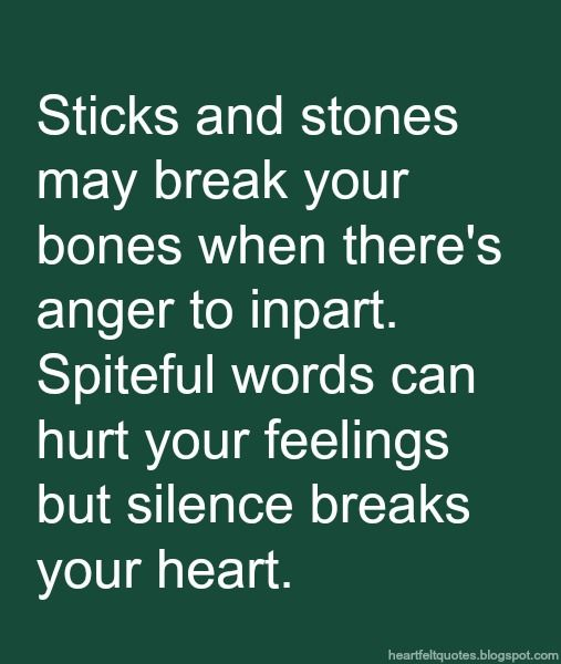 Words can hurt quotes sayings