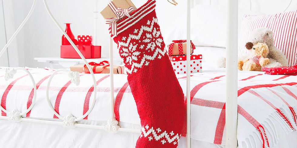 How To Knit Your Own Christmas Stocking Stocking Pattern