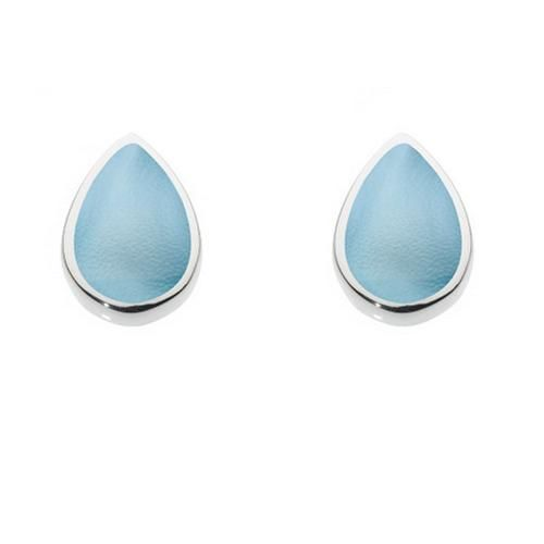 7909966b8 Blue Mother of Pearl Teardrop Studs Silver Jewellery, Sterling Silver  Jewelry, Mother Pearl,