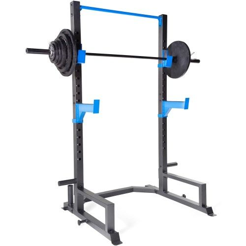 Fuel Pureformance Power Rack With 300 Lb Weight Set Black
