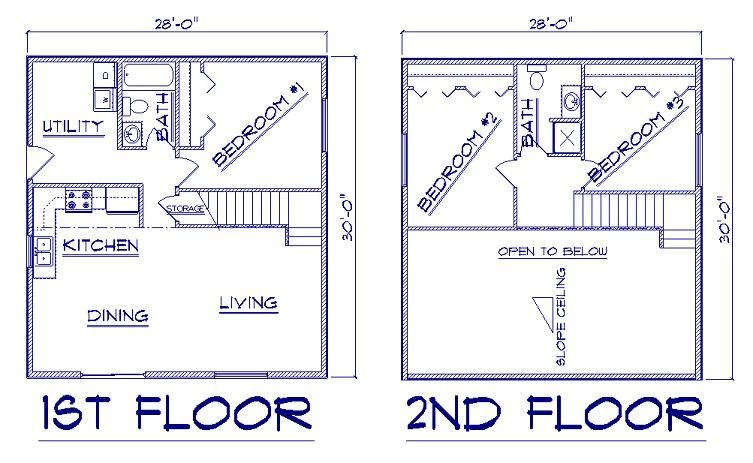 28 X30 House Plans Cabin Floor Plans Luxury House Floor Plans Cottage Floor Plans