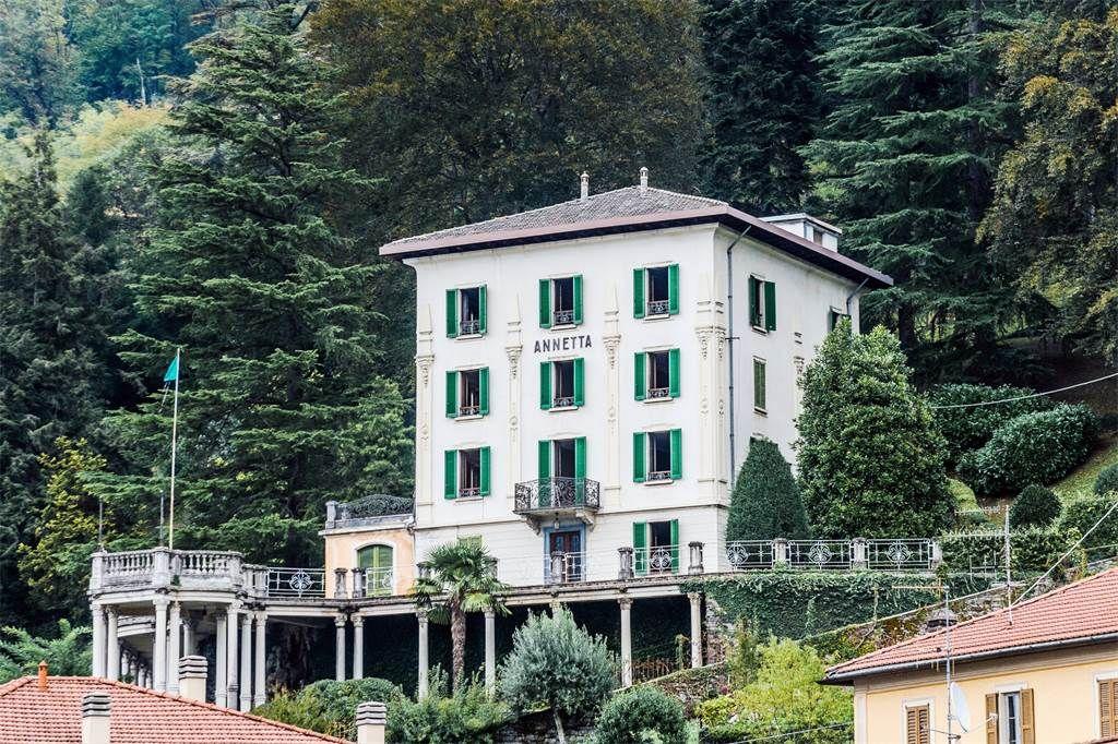 Distinguished Panoramic Xixth Century Villa Faggeto Lario Como Italy Luxury Home For Sale