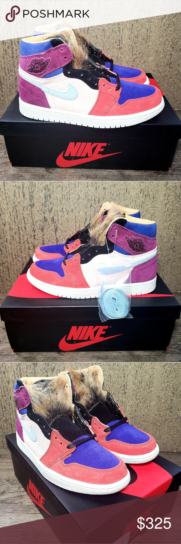 premium selection 1dc4a b4c90 Nike Air Jordan 1 High OG Court Lux Aleali May NE BRAND-NEW ...
