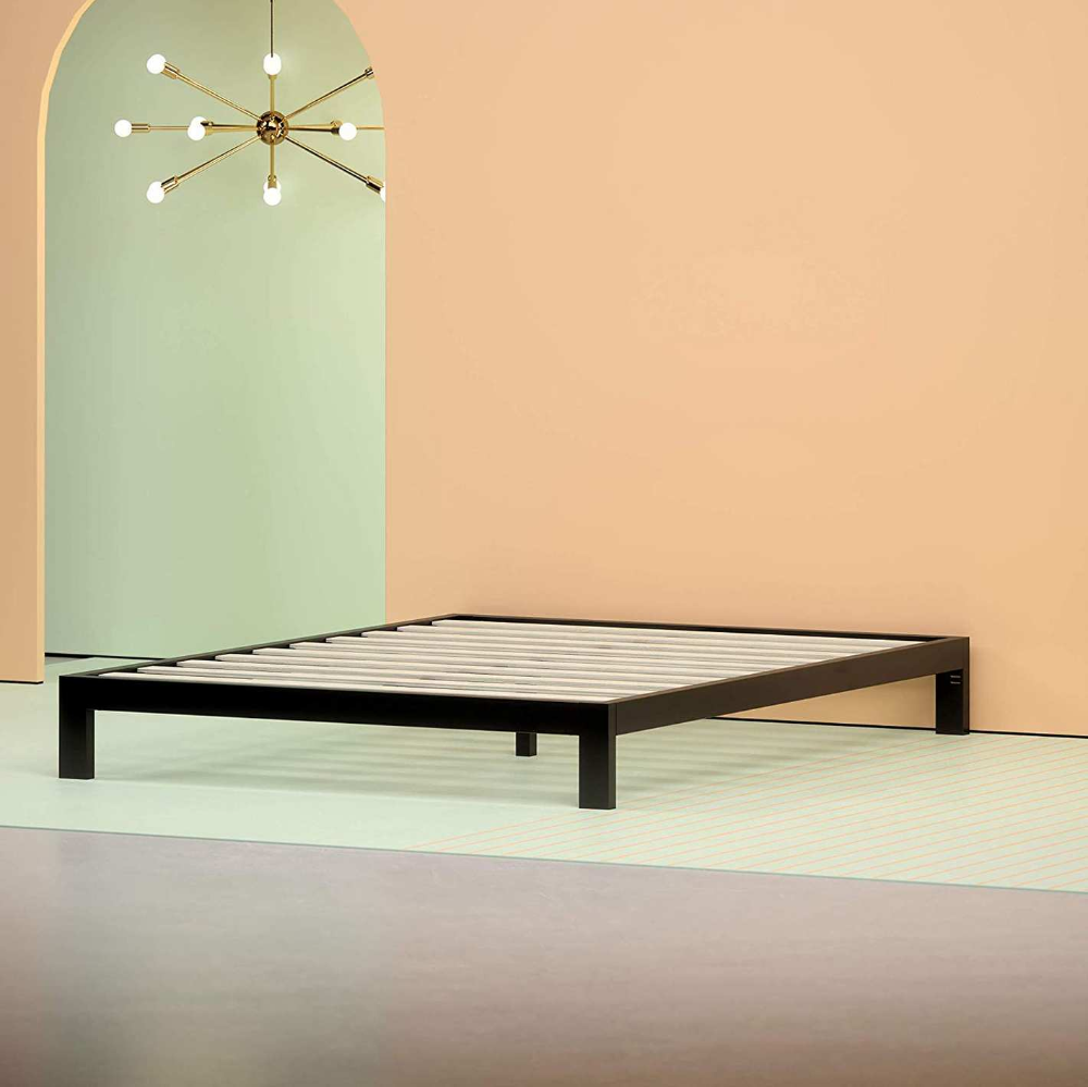 16 Best Metal Bed Frames 2019 The Strategist New York Magazine Metal Bed Frame Bed Frame Mattress Metal Platform Bed