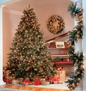 Flocked Hawthorne Prelit Tree Christmas Tree Wallpaper Cool Christmas Trees Pre Lit Christmas Tree