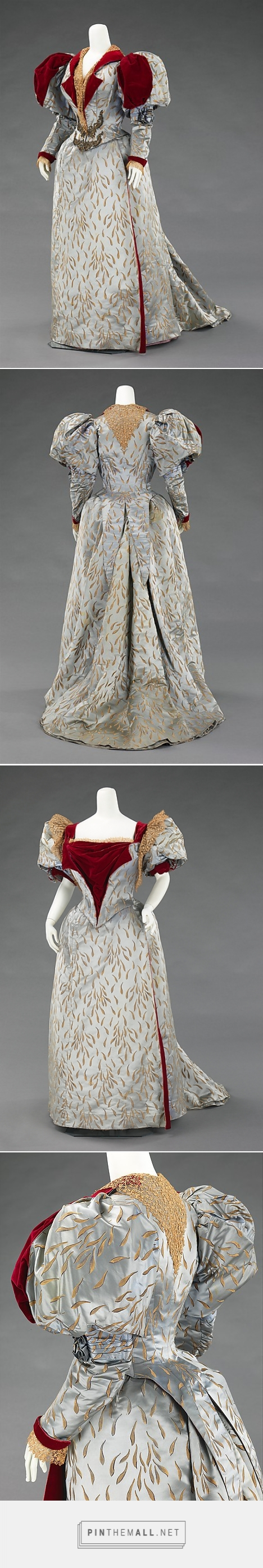 Evening ensemble by House of Worth 1893 French | The Metropolitan Museum of Art