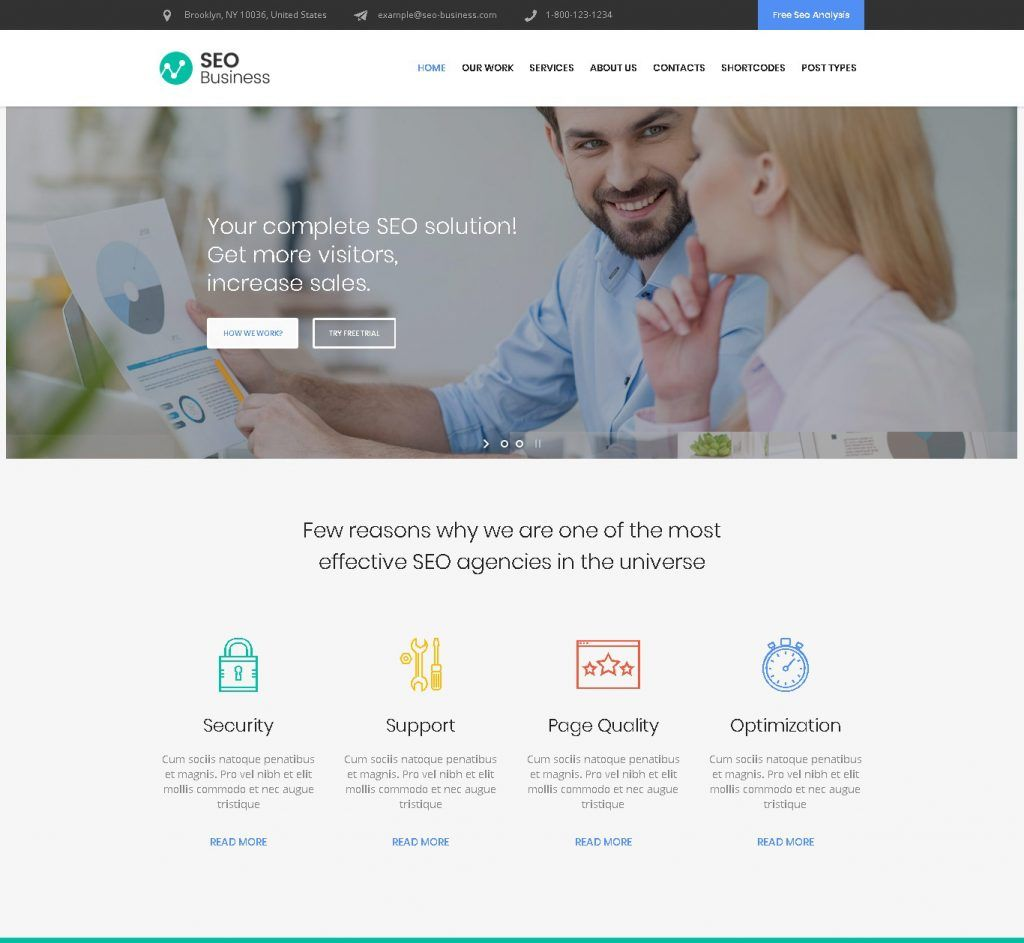 Top 15+ Premium SEO Digital Marketing WordPress Theme to