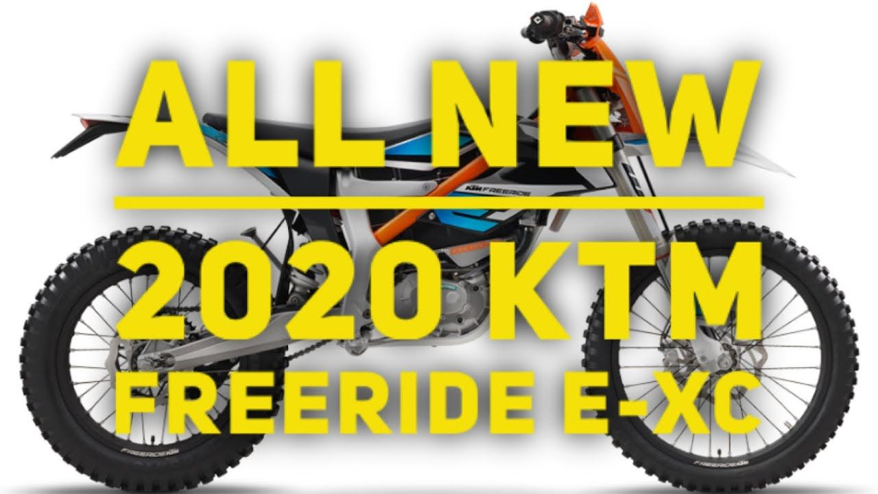 New 2020 Ktm Freeride E Xc Electric Dirt Bike Electric Dirt Bike Freeride Ktm