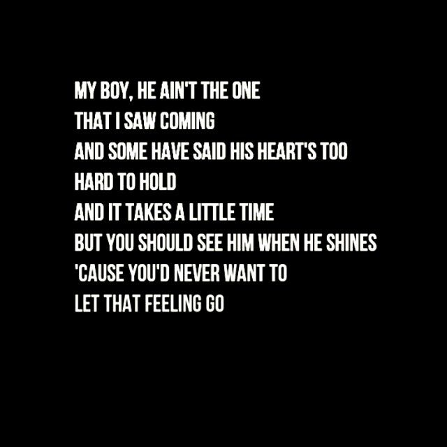 lyrics who you love