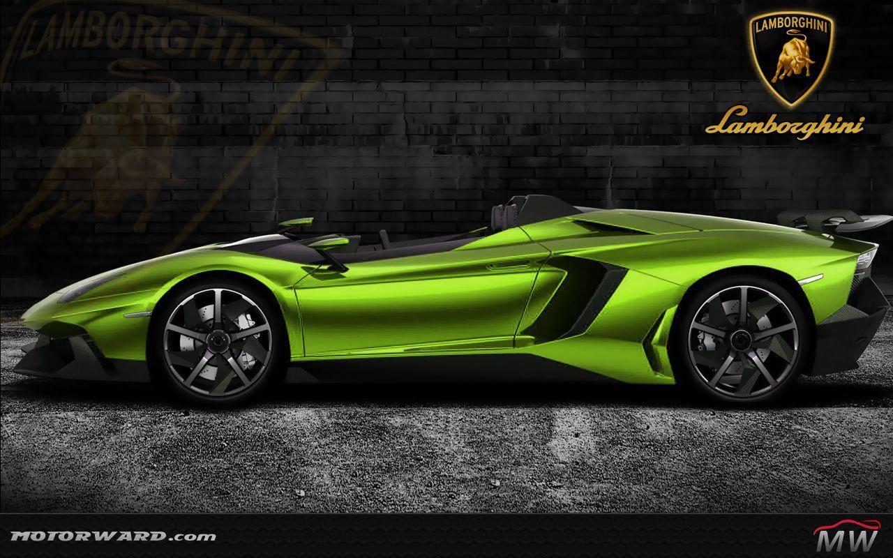 Lamborghini Aventador Lamborghini Aventador J Green