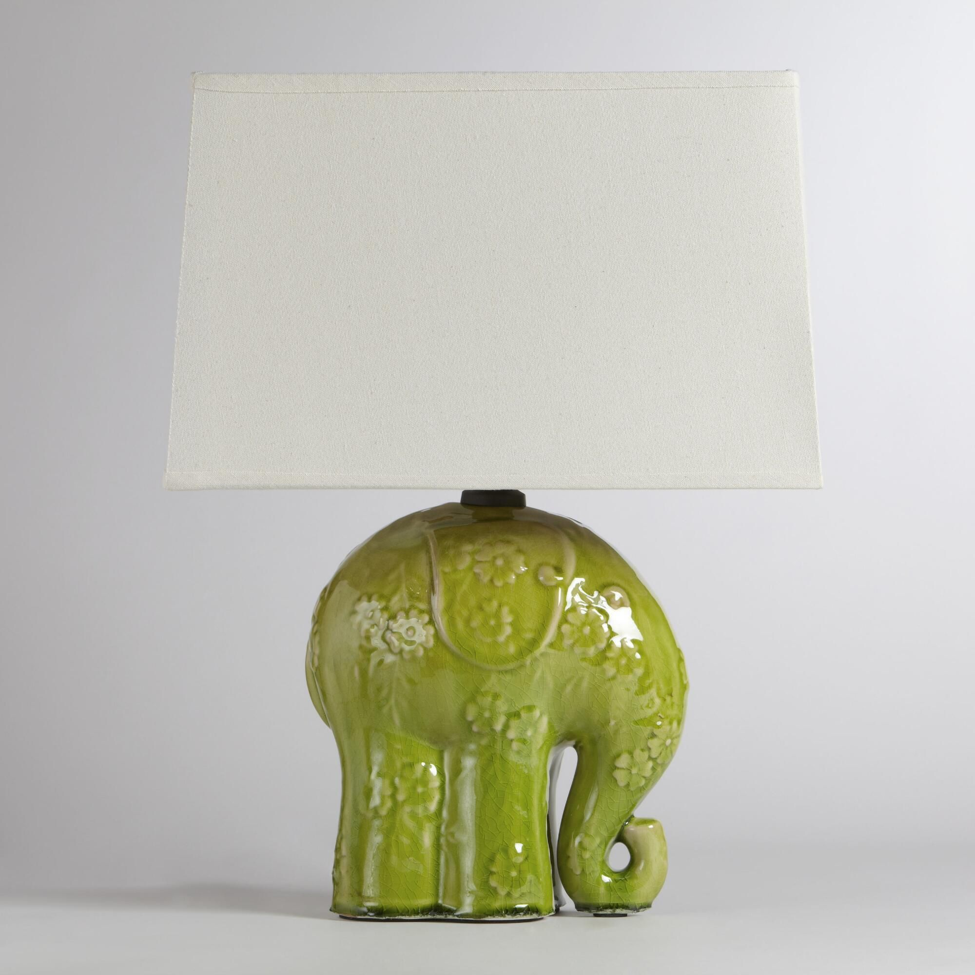 Elephant Ceramic Table Lamp Elephant Table Lamp Elephant Lamp Ceramic Table Lamps