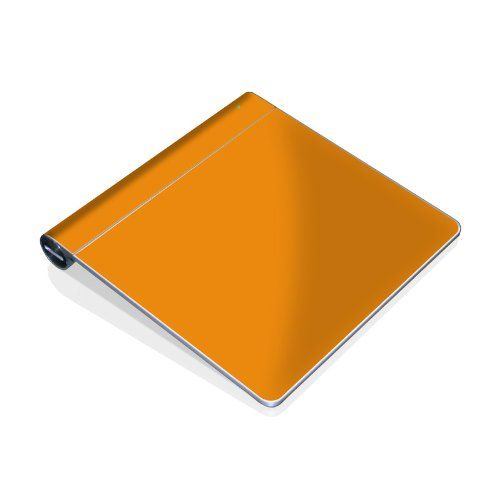 Solid state orange design protective decal skin sticker for apple multi touch magic trackpad mygift