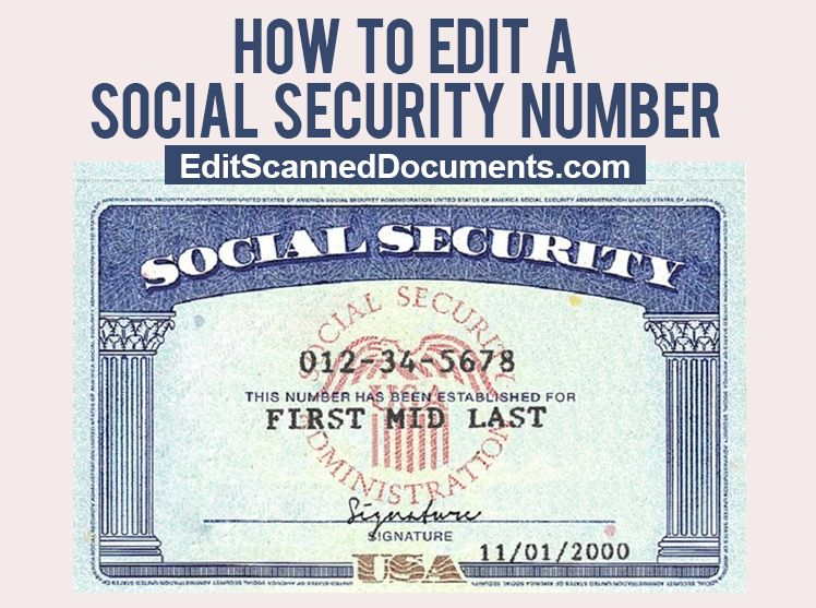 photograph about Printable Social Security Card Template identified as Get hold of clean Phony Social Protection Card Variety Template Fill