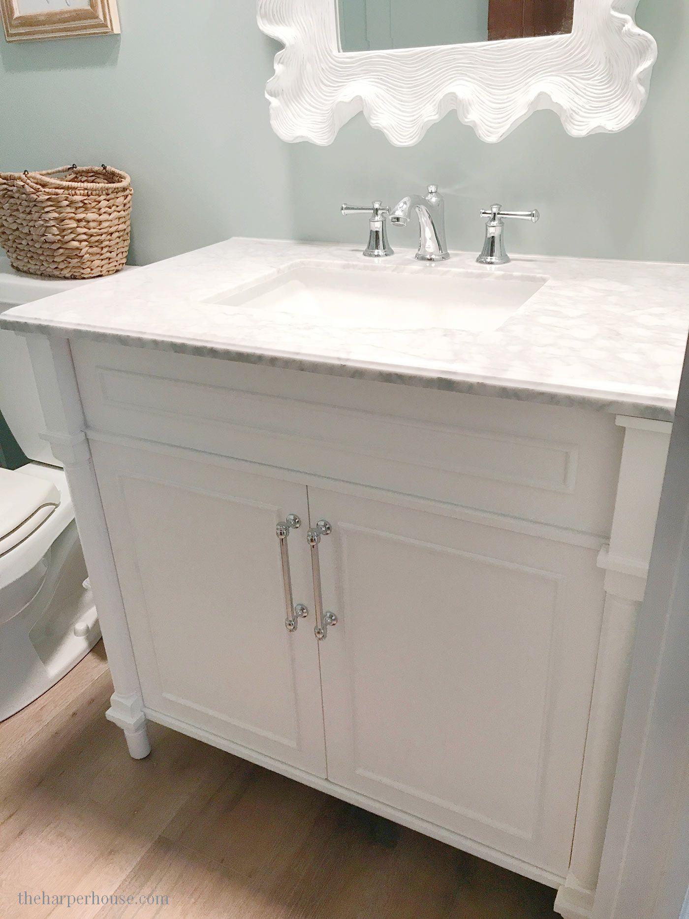 The Ultimate Guide To Buying A Bathroom Vanity Cheap Bathroom Vanities Restroom Remodel Distressed Bathroom Vanity