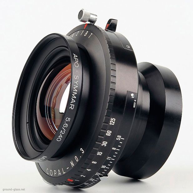 Schneider APO Symmar 240mm F 56 Large Format Photography Lens Specifications